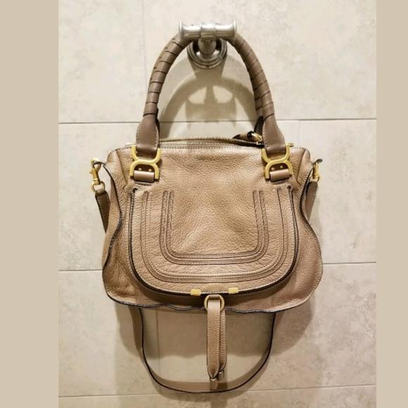 605e9780c3c Chloe Bags   Marcie Medium Satchel Handbag In Nut   Poshmark